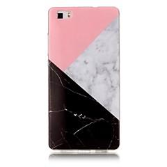 Mert IMD Minta Case Hátlap Case Márvány Puha TPU mert Huawei Huawei P9 Lite Huawei P8 Lite