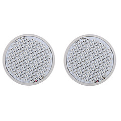 preiswerte LED-Birnen-2pcs 4.5 W 200-300 lm E27 Wachsende Glühbirne 106 LED-Perlen SMD 2835 Rot / Blau 85-265 V / 2 Stück / RoHs / CCC