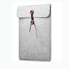 woolfelt kapak vaka 11 13 15 inçlik koruyucu laptop çantası / elma macbook air pro retina laptop durumda kapağı için kol