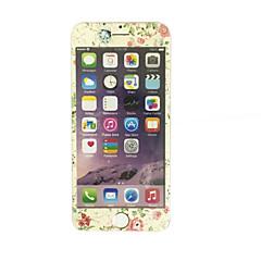 voordelige -voor Apple iPhone 7 plus 5,5 inch gehard glas met een zachte rand full screen dekking voor screen protector bloemenpatroon