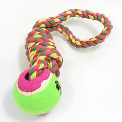 ieftine -Jucărie Pisică Jucării Cățel Jucării Animale Minge Jucării de Mestecat Interactiv Jucărie Curățare Dinți Funie Elastic Câini Durabil