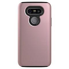 Voor Stofbestendig hoesje Achterkantje hoesje Effen kleur Hard PC voor LG LG G5