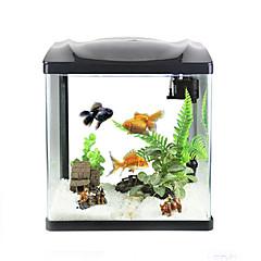 Mini-akvaariot Taustakuvat Energiansäästö Itsestään valaiseva pimeässä Muovi