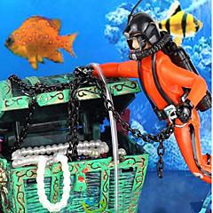 ديكور حوض السمك الزخارف غير سام و بدون طعم بلاستيك