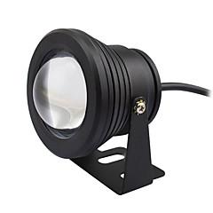 1pc 10w víz alatti lámpák vízálló dekoratív kültéri világítás meleg / hideg fehér ac / dc12v