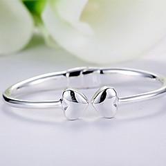 Браслет цельное кольцо Природа Простой стиль Стерлинговое серебро В форме животных Бижутерия Бабочка Бижутерия Назначение