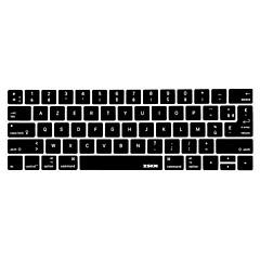 お買い得  MAC 用キーボード カバー-xskn®フランス語AZERTYシリコーンキーボードの皮とタッチバー網膜ディスプレイと13.3 / 15.4プロ2016の最新のMacBook用touchbarプロテクター(私たち/ EUのレイアウト)