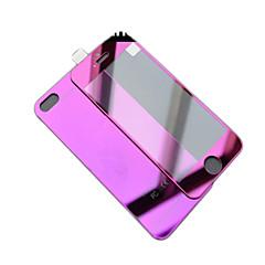 Недорогие Защитные пленки для iPhone 6s / 6-Защитная плёнка для экрана для Apple iPhone 6s / iPhone 6 Закаленное стекло 1 ед. Защитная пленка для экрана и задней панели Зеркальная поверхность / Взрывозащищенный