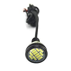 Недорогие Дневные фары-Автомобиль Лампы 80 W SMD 4014 Светодиодная лампа Фары дневного света
