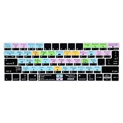 お買い得  MAC 用キーボード カバー-xskn®OS Xショートカットシリコーンキーボードの皮とタッチバー網膜ディスプレイと13.3 / 15.4プロ2016の最新のMacBook用touchbarプロテクター(私たち/ EUのレイアウト)