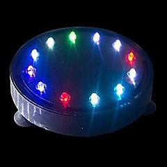 أحواض السمك ديكور حوض السمك متعدد الألوان توفير الطاقة غير سام و بدون طعم مصباح LED 220V