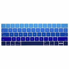 お買い得  MAC 用キーボード カバー-xskn®英語勾配シリコーンキーボードの皮とタッチバー網膜と13.3 / 15.4プロ2016の最新のMacBook用touchbarプロテクター(私たちのレイアウト)