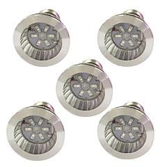 お買い得  LED 電球-5個 3.5W 100lm E14 GU10 E27 成長する電球 6 LEDビーズ SMD 5730 ブルー レッド 85-265V