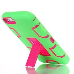 Назначение iPhone 8 iPhone 8 Plus Чехлы панели Защита от удара со стендом Задняя крышка Кейс для броня Твердый Силикон для Apple iPhone 8