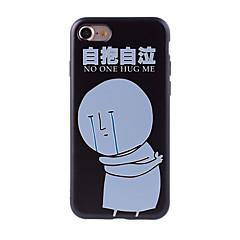 Для С узором Кейс для Задняя крышка Кейс для Слова / выражения Мягкий Силикон для AppleiPhone 7 Plus iPhone 7 iPhone 6s Plus/6 Plus