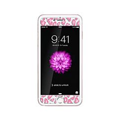 για Apple iPhone 6 / 6δ συν 5.5inch γυαλί διαφανές προστατευτικό μπροστά οθόνης με ανάγλυφο καρτούν λάμψη μοτίβο στο σκοτάδι λεοπάρ