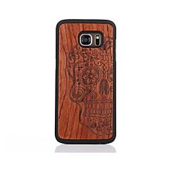 Etui Til Samsung Galaxy S7 edge S7 Mønster Bakdeksel Hodeskaller Hard Tre til S7 edge S7
