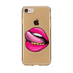tanie Etui do iPhone 6s Plus-Kılıf Na iPhone 7 Plus iPhone 7 iPhone 6s Plus iPhone 6 Plus iPhone 6s iPhone 6 iPhone 5 iPhone 5C iPhone 4/4S Apple Przezroczyste Wzór