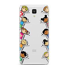 Mert Átlátszó Minta Case Hátlap Case Rajzfilmfigura Puha TPU mert XiaomiXiaomi Mi 5 Xiaomi Mi 4 Xiaomi Mi 5s Xiaomi Mi 5s Plus Xiaomi Mi