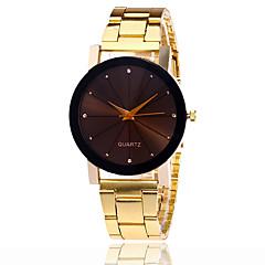 preiswerte Herrenuhren-Herrn Quartz Armbanduhr Cool / Armbanduhren für den Alltag Legierung Band Freizeit / Modisch Silber / Gold / Rose