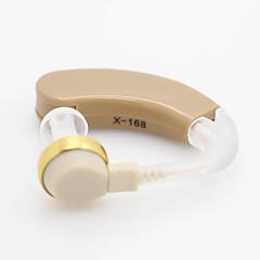 Недорогие Все для здоровья и личного пользования-х-186 лучший цифровой слуховой Объем средств регулируемый тон повесить ухо звук усилитель аудифона