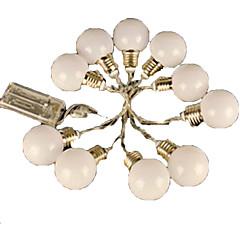 お買い得  LED ストリングライト-4m ストリングライト 20 LED EL 温白色 / RGB <5 V / # / IP44