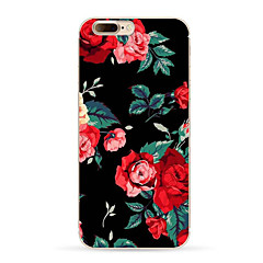 Назначение iPhone X iPhone 8 iPhone 8 Plus Чехлы панели С узором Задняя крышка Кейс для Цветы Мягкий Термопластик для Apple iPhone X