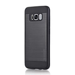 olcso Galaxy S6 tokok-Case Kompatibilitás Samsung Galaxy S8 Plus S8 Ütésálló Other Hátlap Tömör szín Kemény PC mert S8 S8 Plus S7 edge S7 S6 edge plus S6 edge