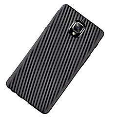 For Ultratyndt Etui Bagcover Etui Helfarve Blødt TPU for OnePlus One Plus 3 One Plus 3T