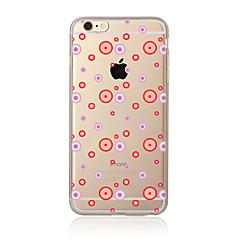 Недорогие Кейсы для iPhone 5-Кейс для Назначение Apple iPhone 7 Plus iPhone 7 Прозрачный С узором Кейс на заднюю панель Плитка Мягкий ТПУ для iPhone 7 Plus iPhone 7