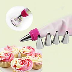 Χαμηλού Κόστους Εργαλεία και γκάτζετ ψησίματος-Εργαλείο διακόσμησης εκκολαπτόμενους Cupcake Κέικ Μεταλλικό Φτιάξτο Μόνος Σου
