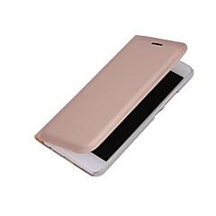 Для Бумажник для карт С функцией автовывода из режима сна Флип Кейс для Чехол Кейс для Один цвет Твердый Искусственная кожа для Huawei