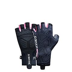 SANTIC Γάντια για Δραστηριότητες/ Αθλήματα Γάντια ποδηλασίας Φοριέται Αναπνέει Τερυλίνη Ελαστίνη Ποδηλασία / Ποδήλατο Γυναικεία