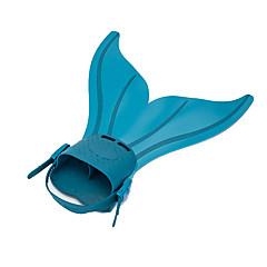 Χαμηλού Κόστους -Πτερύγια κατάδυσης Βατραχοπέδιλα Πακέτα για Κολύμπι με Αναπνευστήρα Ρυθμιζόμενη προσαρμογή Γρηγορη Απελευθέρωση Γοργόνα Κολύμβηση