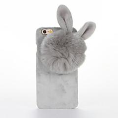 Для Своими руками Кейс для Задняя крышка Кейс для 3D в мультяшном стиле Твердый Текстиль для AppleiPhone 7 Plus iPhone 7 iPhone 6s Plus