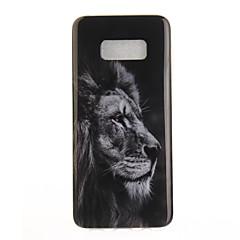 Etui Til Samsung Galaxy S8 Plus S8 IMD Mønster Bagcover Dyr Blødt TPU for S8 S8 Plus S7 edge S7 S6 edge S6
