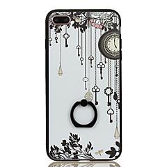 Для Кольца-держатели С узором Кейс для Задняя крышка Кейс для Кружевной дизайн Твердый PC для Apple iPhone 7 Plus iPhone 7
