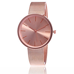 Women's Dress Watch Fashion Watch Japanese Quartz Alloy Band Charm Casual Elegant Minimalist Silver Rose Gold