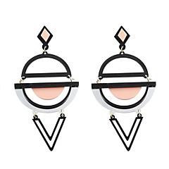 preiswerte Ohrringe-Damen Tropfen-Ohrringe - Personalisiert, Acryl, Modisch Gelb / Grün / Rosa+Weiß Für Hochzeit / Party / Alltag