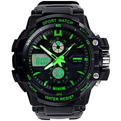 voordelige Smartwatches-SKMEI 0966 mannen vrouw kijken dubbele significant outdoor sporthorloge bergbeklimmen waterdicht elektronische horloge mannelijke geleid