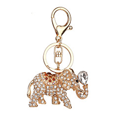 Key Chain Toys Key Chain Elephant Metal 1 Pieces Not Specified Christmas Valentine's Day Gift