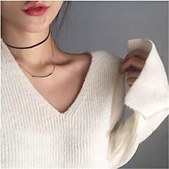 preiswerte Halsketten-Damen Halsketten - Personalisiert, Modisch, Euramerican Gold, Silber Modische Halsketten Für Party, Besondere Anlässe, Jahrestag