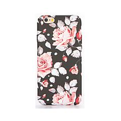 Для Сияние в темноте Рельефный С узором Кейс для Задняя крышка Кейс для Цветы Мягкий TPU для AppleiPhone 7 Plus iPhone 7 iPhone 6s Plus