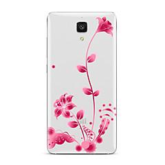 Недорогие Чехлы и кейсы для Xiaomi-Кейс для Назначение Xiaomi Прозрачный С узором Кейс на заднюю панель Цветы Мягкий ТПУ для Xiaomi Mi 5s Plus Xiaomi Mi 5s Xiaomi Mi 5