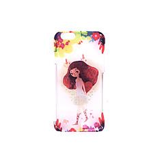Для Чехлы панели Матовое Рельефный С узором Задняя крышка Кейс для Соблазнительная девушка Твердый PC для AppleiPhone 7 Plus iPhone 7