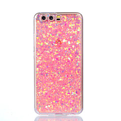 cheap Cases / Covers for Huawei-For Huawei P10 Lite P10 Case Cover Shockproof Back Cover Case Glitter Shine Soft Acrylic for Huawei P9 Lite P8 Lite P8 Lite 2017