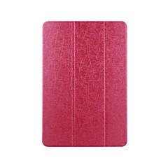 Voor case cover met origami full body case vaste kleur hard pu oracle voor asus k010 me103c / tf103c