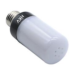10W E14 E26/E27 LED-lampa 100 lysdioder SMD 5736 Varmvit Kallvit 850-950lm 2800-3200/6000-6500K AC 220-240V