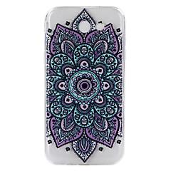 halpa Muut Samsung kotelot / kuoret-Etui Käyttötarkoitus Samsung Galaxy J7 Prime J5 Prime Läpinäkyvä Kuvio Koristeltu Takakuori Mandala Pehmeä TPU varten J7 Prime J7 (2016)