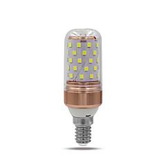 10W E14 E26/E27 Luci LED Bi-pin T 60 SMD 2835 1000 lm Bianco caldo Bianco 2700 6500 K V